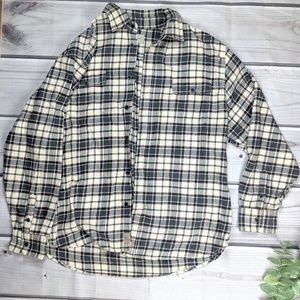 Jachs | Blue & Cream Flannel